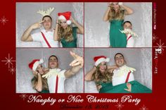 Holiday themed props make the season bright. Merry Christmas! #christmasparty #fundraiser #photobooth