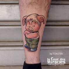 Awesome tattoo by Toaster!