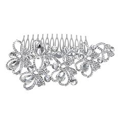 Gorgeous Alloy With Rhinestone Women's Hair Combs – USD $ 24.49