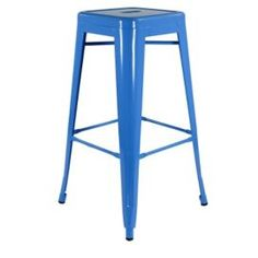 Buy Xavier Pauchard High Blue Tolix Style Stool from our Bar Tables & Stools range - Tesco.com