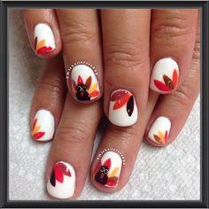 THANKSGIVING by michellerose222 #nail #nails #nailart