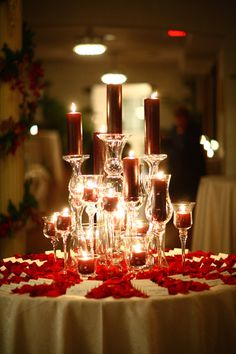 winter wedding decor. Great idea for a table honoring those who have passed away or name card table!