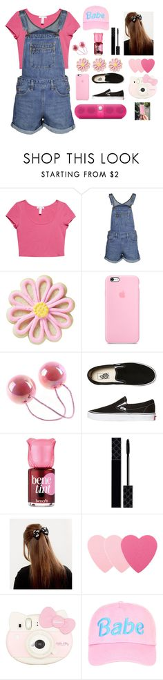 """""""🎀✨PINK BABE✨🎀"""" by aby-ocampo ❤ liked on Polyvore featuring Wet Seal, Levi's, Wilton, Vans, Benefit, Gucci, Sephora Collection, Hello Kitty and Beats by Dr. Dre"""