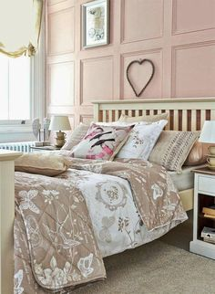 The pink bedroom is no longer  only  associated with little girl themes of Princesses, Barbie, Hello Kitty, or tons and tons of ruffles a...