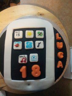 IPad cake, what fun!
