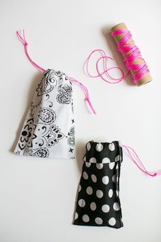 DIY: no sew bandana sunglasses case