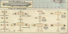 Principal air routes -- aircraft, 1920
