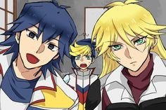 I am now officially accepting this as head-cannon. ~Sherry and Bruno from Yu-Gi-Oh 5D's, and Yugo from Arc-V~