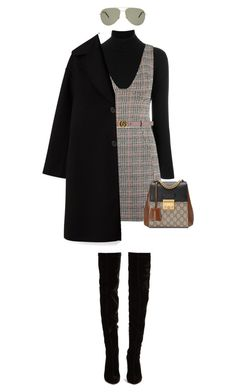 """""""Untitled #930"""" by mystyle06 ❤ liked on Polyvore featuring La Fileria, Topshop, Gucci, Christian Louboutin and Yves Saint Laurent"""
