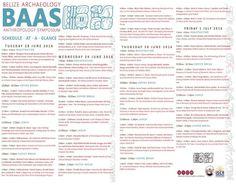 BAAS 2016 Schedule