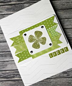 St.Patty's Day Card •Tutorial #StPatricks