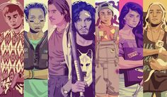 Game of Thrones gets a 90s makeover by illustrator Mike Wroebel