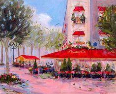 Dorothy Spangler ~ Parisienne Walkways