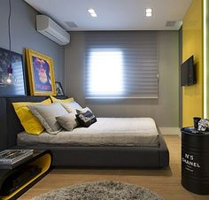 25+ Best Master Bedroom Design Ideas | Young mans bedroom, Young ...