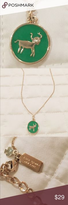 ✨ Kate Spade Seeing Stars Taurus Necklace ✨ In perfect condition, no flaws. Kate Spade Seeing Stars Zodiac collection - for all of the bulls ! kate spade Jewelry Necklaces