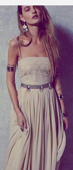 mode, boho chic, tendance, hippie chic, romantique, été, Bohemian fashion trends in clothing jewelry, look, gypsy spirit, bijoux