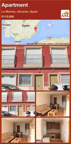 Apartment in La Marina, Alicante, Spain ►€112,000 #PropertyForSaleInSpain