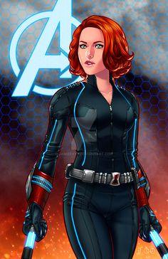 Black Widow - Age of Ultron by JamieFayX