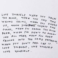quote - text - words - inspiration - love yourself - motivation - love - happiness - mindfulness - goals Self Love Quotes, Words Quotes, Quotes To Live By, Life Quotes, Sayings, The Words, Cool Words, Favorite Quotes, Best Quotes