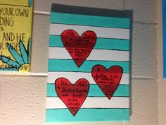 Three Hearts With Bible Verses Inside Of by GodBlessedSouthern