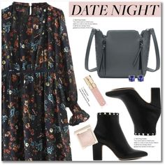 How To Wear Date Night Style Outfit Idea 2017 - Fashion Trends Ready To Wear For Plus Size, Curvy Women Over 20, 30, 40, 50