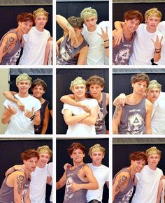 Nouis, Louis and Niall
