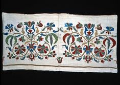 second half of the cent. Hungarian Embroidery, Crewel Embroidery, Hobbit, Hungary, Folk Art, Needlework, Textiles, Patterns, Embroidery