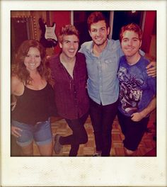 """ES Audio Recording Studio in Enjoyed having Shane Dawson (r) and his Crew ( from l) from r) & (l) ) in """" A"""" recently for Shane's Popular Make sure to Visit Shane's FB Page for his Latest Videos, Photos and More! Joey Graceffa, Perfect Boyfriend, Shane Dawson, Recording Studio, Universal Studios, One Pic, Youtubers, Fangirl, Hilarious"""
