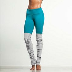 New Candy Colors Patchwork Leggings