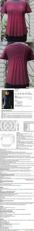 350 mejores imágenes de Blusas a dos agujas en 2019 | Crochet ...