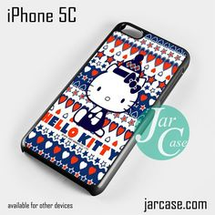 hello kitty cute aztec Phone case for iPhone 5C and other iPhone devices