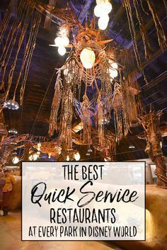 Where can you find the best quick service restaurants in each park at Walt Disney World? We usually eat a lot of 'Quick Service' (or 'Counter Service') meals while at Disney World because we like to… Best Disney World Restaurants, Disney World Food, Disney World Magic Kingdom, Disney World Parks, Disney World Planning, Walt Disney World Vacations, Disney Travel, Disney Worlds, Epcot Restaurants