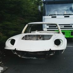 A front view of that Mazda, Cosmos, Workshop, Instagram Posts, Atelier, Work Shop Garage, Space, Outer Space