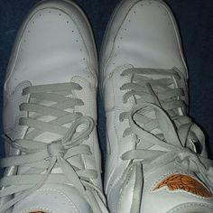 c01d4a146c664a Shop Men s Air Jordan Orange White size 15 Athletic Shoes at a discounted  price at Poshmark.