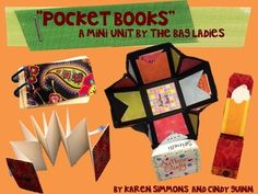 """Happy Halloween FREEBIE!!!  The Bag Ladies """"Pocket Books"""" Mini-Unit (12.50 value) is currently in the """"FREE DOWNLOAD WINDOW!!""""  Follow Us on TPT (and Pinterest!) for notification of these FREE DOWNLOAD WINDOW offerings!"""