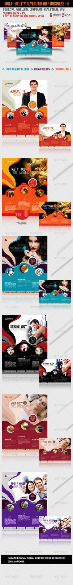 Multi-utility Flyer For Different Business - 5