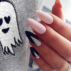 Winter Nails, Spring Nails, Summer Nails, Trendy Nails, Cute Nails, Manicure, Classic Nails, Almond Nails Designs, Geometric Nail
