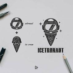 Instagram Web Design, Food Logo Design, Graphic Design Tutorials, Sketch Design, Identity Design, Icon Design, Design Graphique, Art Graphique, Inspiration Logo Design