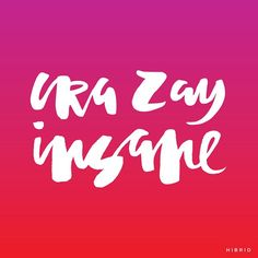 cra zay Handlettering by Courtney Shelton