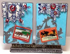 Chattering Robin's: Winter Wonderland ATC's