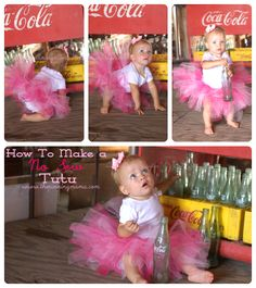 How to Make an Easy No Sew Tutu for Little Girls   The Pinning Mama    With handy sizing guide from Newborn to 5 years old.