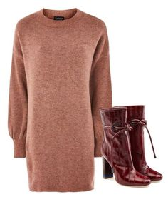 """""""Bez naslova #365"""" by ruza66-c ❤ liked on Polyvore featuring Topshop and Malone Souliers"""
