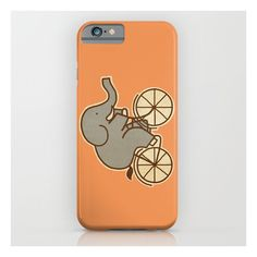 Elephant Cycle iPhone 6s Case (€28) ❤ liked on Polyvore featuring accessories, tech accessories and iphone & ipod cases
