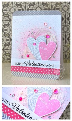 Hi! I am back today to share a card that I created using some faboulos Hero Arts products... The mainproductsthat I used were:Amorebackground (clear-embossed over Snow layering paper). Untitled...
