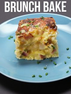 Easy Brunch Bake | Here Are 13 Of The Tastiest Recipes Of The Year Breakfast Egg Bake, Breakfast Recipes, Breakfast Skillet, Breakfast Time, Breakfast Dishes, Breakfast Casserole, Easy Brunch Recipes, Breakfast Sandwiches, Buttermilk Biscuits