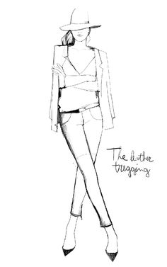 Fashion illustration // Garance Dore