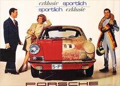 Porsche, exklusiv,  sportlich - 1967 - (Strenger) -