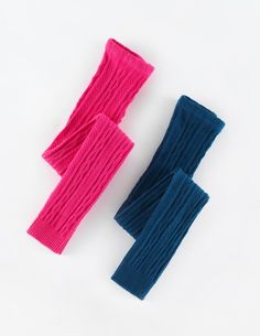 2 Pack Cable Footless Tights
