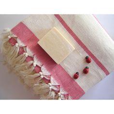 Turkish Bath Towel, Eco-friendly Turkish Peshtemal, Soultan, Ultra... ($28) via Polyvore