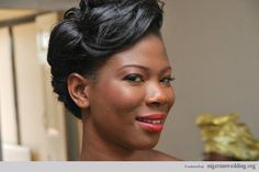 25 Gorgeous Bridal Hairstyles For Nigerian Brides by The Very Talented MUA Kemi Kings |